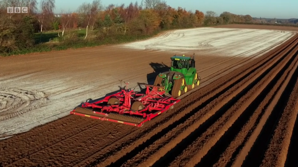 Variable Rate Lime Spreading